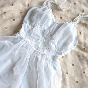 Vintage Rare Rogers Embroidered Nightgown